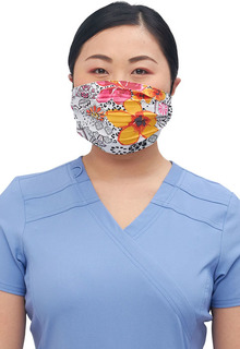 Reversible Pleated Face Covering-