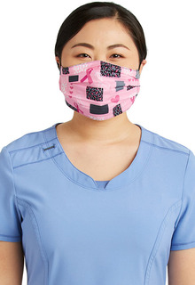 Adult Reversible Pleated Face Covering