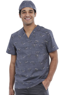 Unisex Print Scrub Hat-Cherokee Medical
