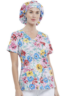 Unisex Bouffant Scrubs Hat-Cherokee Uniforms