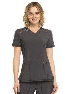 CK520A V-Neck Top-Cherokee Medical