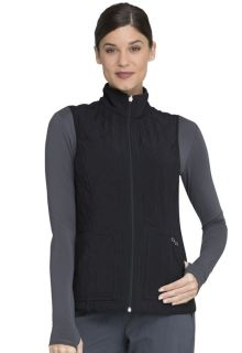 Reversible Quilted Vest-Cherokee Medical