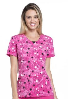 CK609 Round Neck Top-Cherokee Medical
