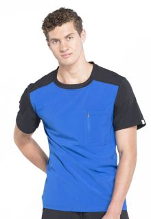 Infinity Mens Colorblock Crew Neck Top - CK630A