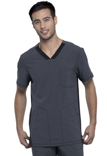 CK639A Mens V-Neck Top-Cherokee Medical