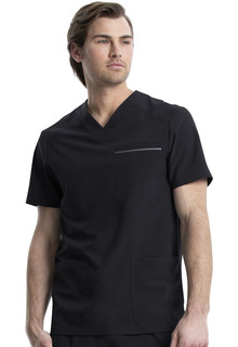 CK661 Mens V-Neck Top-Cherokee Medical