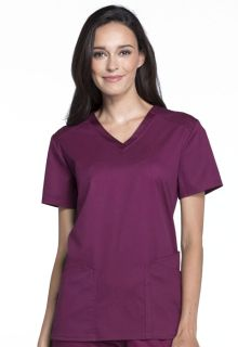 CK670 V-Neck Top-Cherokee Medical