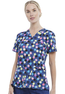 CK671 V-Neck Top-Cherokee Medical