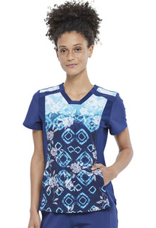 CK673 V-Neck Top-Cherokee Medical