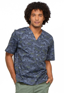 CK675 Mens V-Neck Top-