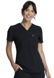 Tuckable V-Neck Top-Cherokee Uniforms