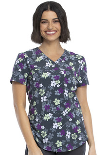 CK693 V-Neck Top-Cherokee Medical