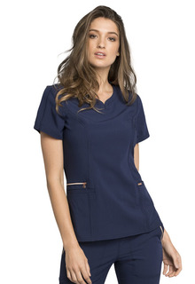 WSL Statement Zipper Pocket Top-Cherokee Medical