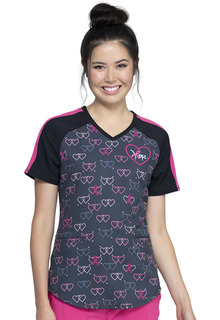 CK702 V-Neck Top-Cherokee Medical