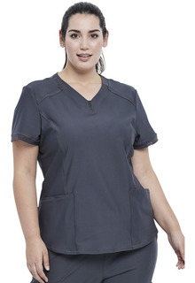 CK723 V-Neck Top-Cherokee Medical
