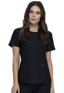 CK841 Round Neck Top-Cherokee Medical