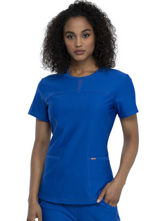 FORM -  Round Neck Top-Cherokee Medical
