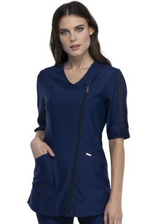 Asymmetrical Zip Front Tunic-