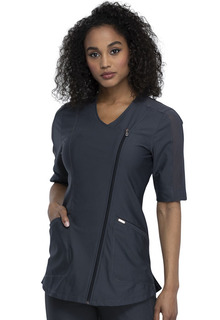 FORM - NEW Zip Front Tunic-Cherokee Medical