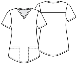 CK870 V-Neck Top-Cherokee Medical