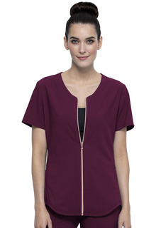 Zip Front Top-Cherokee Medical