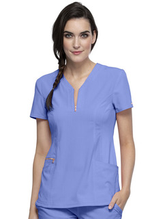 Statement - Y-Neck Top-Cherokee Medical