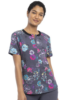 CK880 Round Neck Top-Cherokee Medical