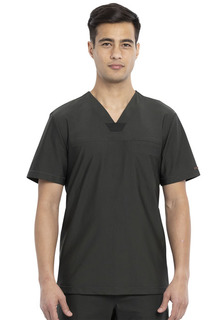 CK885 Mens Tuckable V-Neck Top-Cherokee Medical