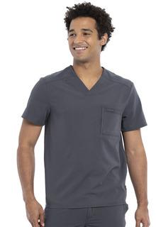 Euphoria NEW Men's Tuckable Scrub Top - Antimicrobial-Cherokee Medical