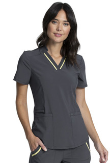 CK895A V-Neck Top-Cherokee Medical