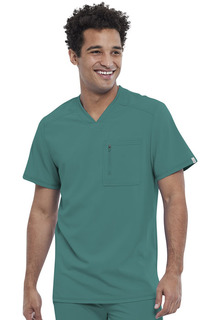 CK910A Mens Tuckable V-Neck Top-Cherokee Medical