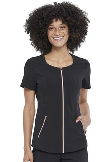 CK915 Zip Front Top-Cherokee Medical
