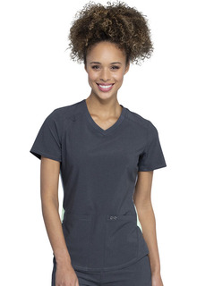 Infinity Performance V-Neck Top - Antimicrobial-Cherokee Medical