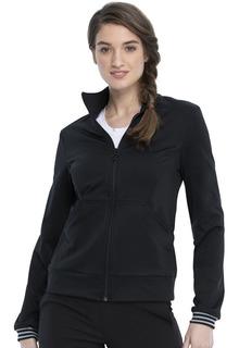Zip Front Knit Jacket-