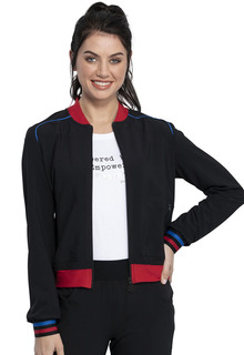 Katie Duke iFlex Bomber Jacket-Cherokee Medical