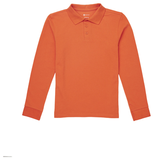 Adult Long Sleeve Pique Polo-Classroom Uniforms
