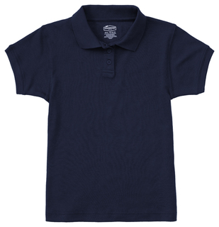 Jrs Short Sleeve Fitted Interlock Polo-Classroom Uniforms