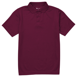 Youth Unisex Moisture Wicking Polo-Classroom Uniforms