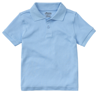Preschool Short Sleeve Interlock Polo-Classroom Uniforms
