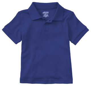 Preschool Short Sleeve Interlock Polo-Classroom Uniforms