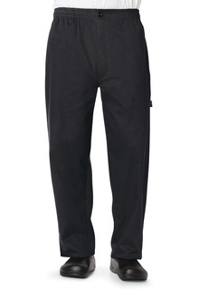 Mens Traditional Baggy Zipper Fly Pant