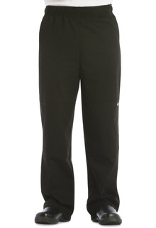 Unisex Double Knee Baggy Elastic Pant-Dickies Chef