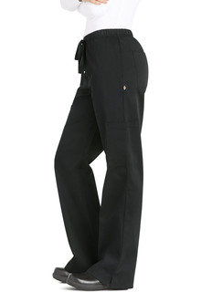 Womens Elastic Drawstring Low Rise Pant
