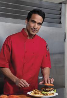 Unisex Cool Breeze Chef Coat-Dickies Chef