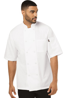 Unisex Cool Breeze Chef Coat-Dickies Chef