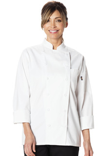 Womens Executive Chef Coat-Dickies Chef