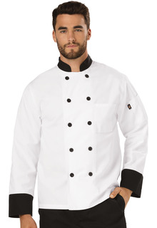 Unisex Classic 10 Button Chef Coat-