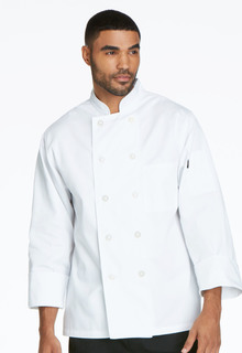 DC47 Unisex Classic 10 Button Chef Coat-Dickies Chef