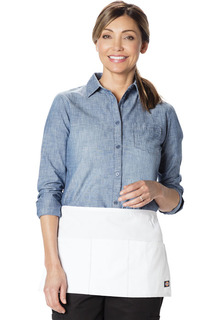 3 Pocket Server Waist Apron - 6 pc pack-Dickies Chef