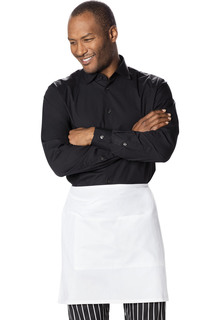 Half Bistro Waist Apron with 2 Pockets-Dickies Chef